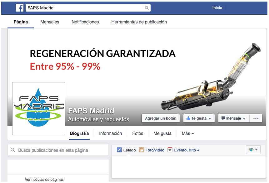 faps madrid en facebook
